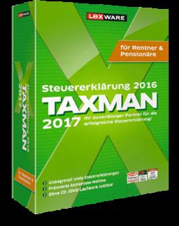 taxman 2017 fr rentner - Steuererklarung Rentner Muster